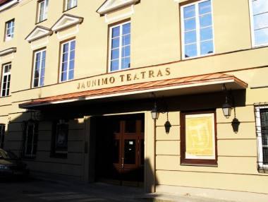Jaunimo teatro fasadas. Rengėjų archyvo nuotrauka