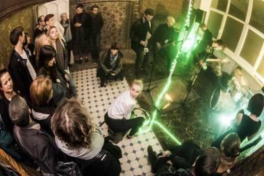 """Spektaklis-akcija """"Eglė žalčių karalienė"""". Dmitrijaus Matvejevo nuotrauka"""
