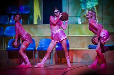 """Scena iš spektaklio """"Žalgirės"""". Donato Stankevičiaus nuotrauka"""