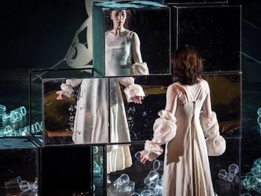 """Scena iš šokio spektaklio """"Žizel"""". Tomo Ivanausko nuotrauka"""