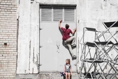 "Akimirka iš ""Be Flat"". Donato Ališausko nuotrauka"