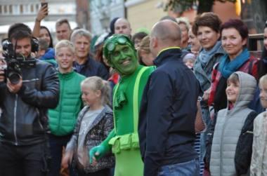 """""""Žaliasis žmogus"""". Nuotrauka iš festivalio organizatorių archyvo"""