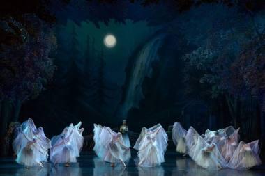 "Scena iš baleto ""Žizel"". Martyno Aleksos nuotrauka"