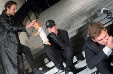 Tadas Gryn, Vainius Sodeika ir Dovydas Stončius. Dmitrijaus Matvejevo nuotrauka