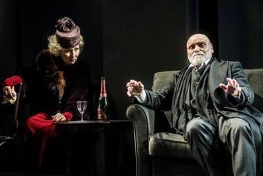 Inga Burneikaitė (Baronienė Štral) ir Vladas Bagdonas (Minetis). Dmitrijaus Matvejevo nuotrauka