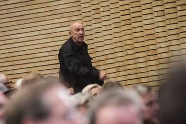 Masaros komentaras iš salės. Dmitrijaus Matvejevo nuotrauka