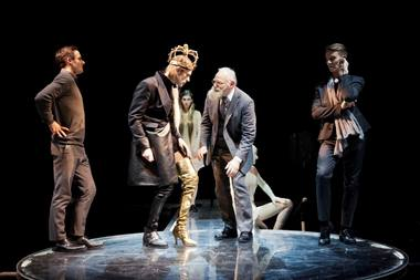 """Hamletas"" ant podiumo. NKDT nuotrauka"