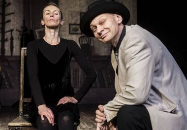 """""""Bado meistras"""", Viktorija Kuodytė ir Genadijus Virkovskis. Dmitrijaus Matvejevo nuotrauka"""