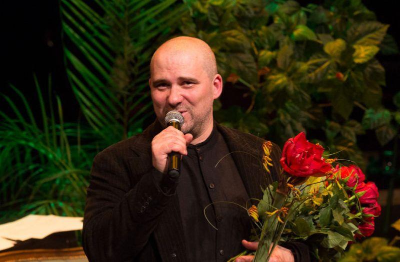 Festivalio Varėnoje laureatas Aidas Giniotis. Martyno Siruso nuotrauka iš 15min.lt