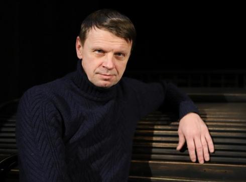 """Aktorius ir režisierius Rolandas Kazlas. Vilniaus teatro """"Lėlė"""" archyvo nuotrauka"""