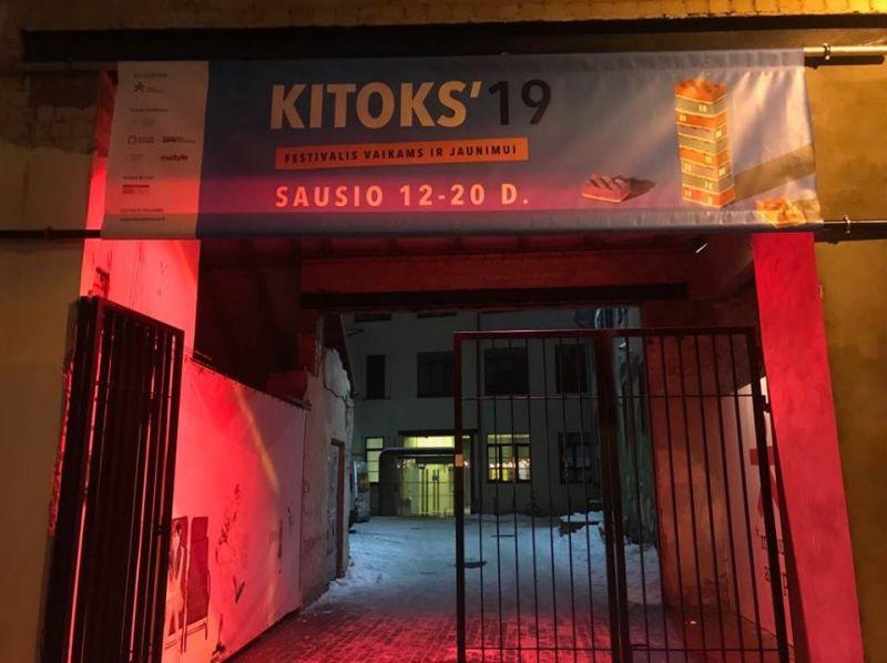 Sausį atsidaro vartai į KITOKĮ teatrą vaikams. Menų spaustuvės archyvo nuotrauka
