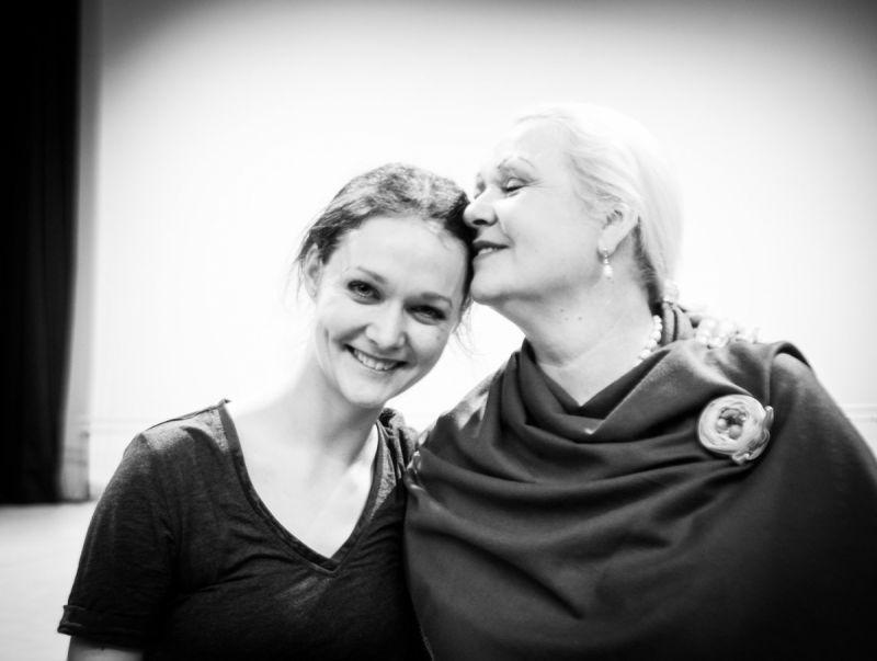 Jurgita Dronina ir Jolanta Vymerytė. Tomo Ivanausko nuotrauka