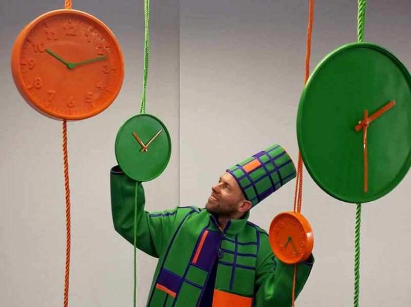 """Spektaklis """"Laikrodininkas"""" skirtas 5-20 mėnesių kūdikiams. """"Dansemos"""" nuotrauka"""