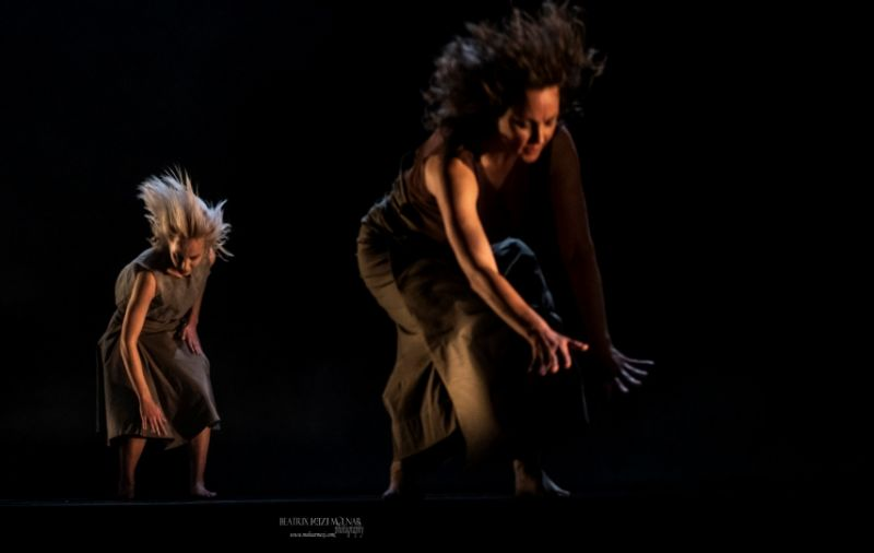 "Šokio spektaklis ""Nakties mirgėjimas"". Beatrix Molnar nuotrauka"