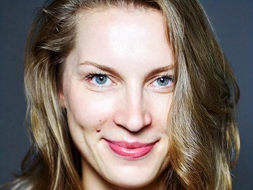Aktorė Gintarė Parulytė. Antje Taiga Jandrig nuotrauka