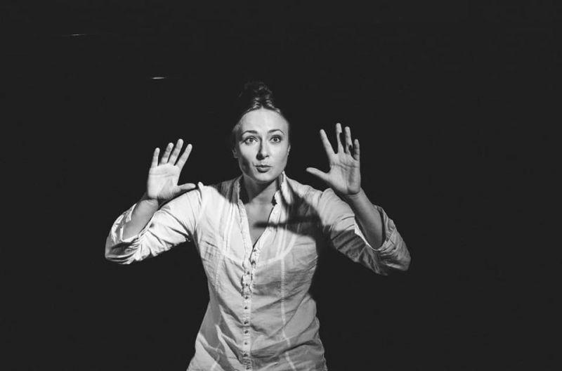 """Scena iš spektaklio """"Aš, Fojerbach"""". Teatro archyvo nuotrauka"""