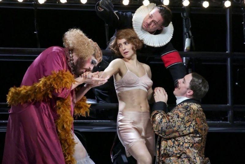 """Asmik Grigorian operoje  """"Miręs miestas"""". Nuotrauka iš  """"La Scala"""" archyvo"""