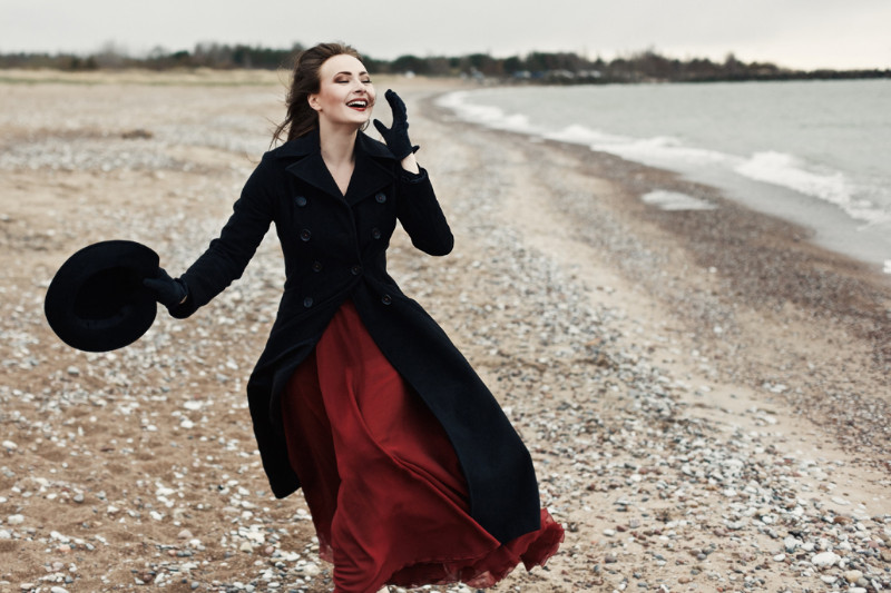 Aktorė Kristina Švenčionytė. Monikos Penkutės nuotrauka