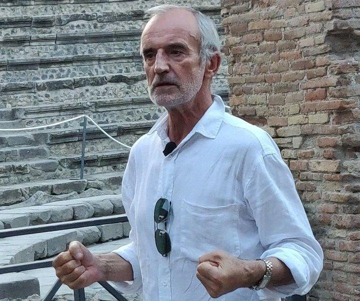 R.Tumino spektaklis buvo rodomas Pompėjoje. Laimos Lavastes nuotrauka