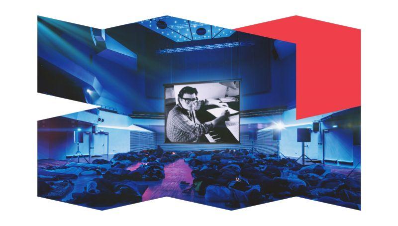 Mortonas Feldmanas. Koncertas gulintiems. Festivalio organizatorių archyvo nuotrauka