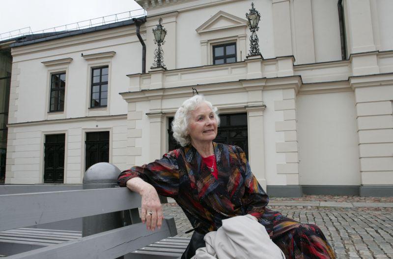 Aktorė Marija Černiauskaitė-Barauskienė. Nuotrauka iš Klaipėdos dramos teatro archyvo