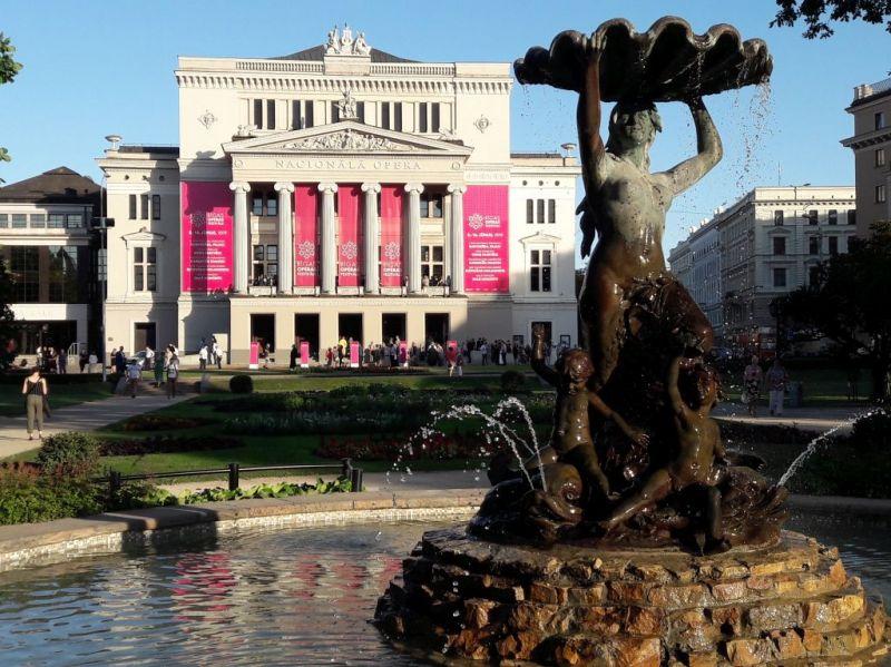 Latvijos nacionalinė opera ir baletas. Rimos Jūraitės nuotrauka