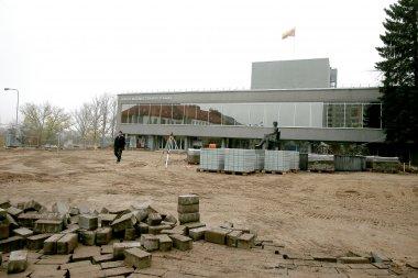 Juozo Miltinio dramos teatras ir jo prieigų rekonstrukcija. A.Švelnos nuotrauka