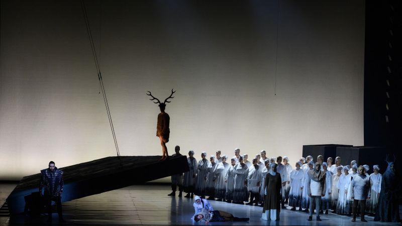"""Giedriaus Kuprevičiaus opera """"Prūsai"""". Martyno Aleksos nuotrauka"""
