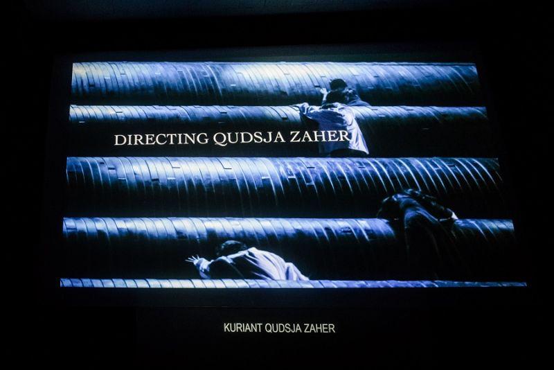 """Filmo """"Kuriant Qudsja Zaher"""" pristatymas. Lauros Vansevičienės nuotrauka"""