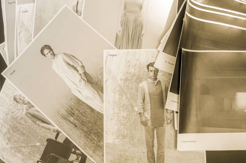 Akimirka iš premjeros pristatymo. Olesios Kasabovos nuotrauka