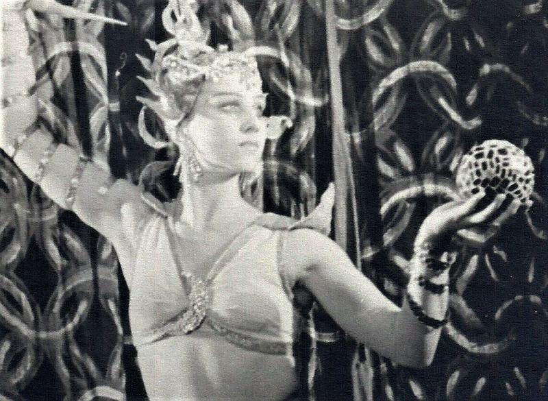 Baleto artistė, pedagogė Valentina Lapina-Žebrauskienė. Nuotrauka iš šeimos archyvo