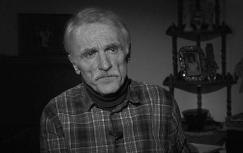 Kompozitorius ir architektas Kęstutis Antanėlis (1951-2020). Stop kadras iš LRT.lt