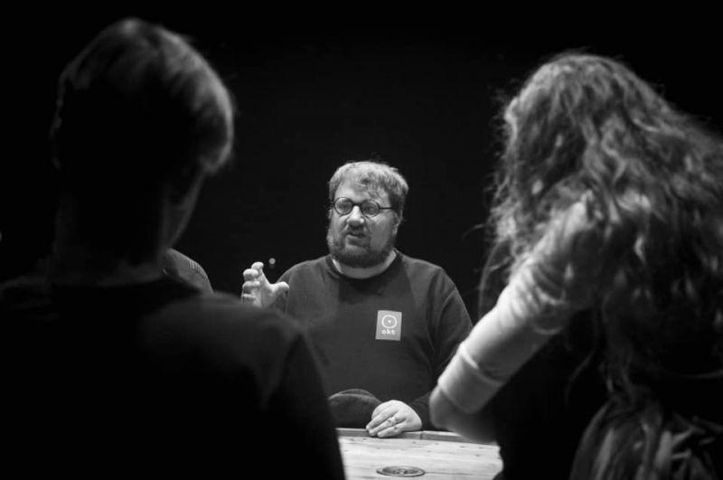 """Spektaklio """"Jusufas"""" repeticija. Dmitrijaus Matvejevo nuotrauka"""