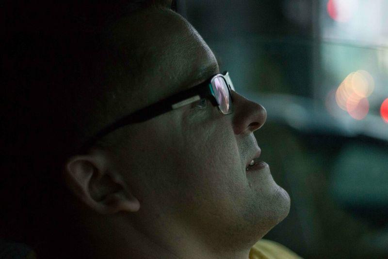 """Pokalbių laidos """"O paskui - tyla"""" idėjos autorius - kompozitorius Martynas Bialobžeskis. J. Jurkūno nuotrauka iš LRT.lt"""