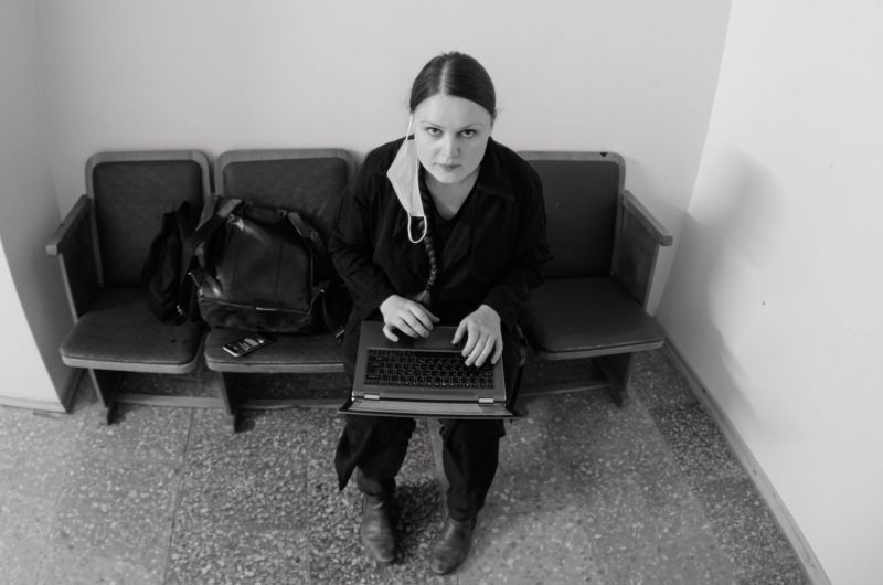 """""""Operomanijos"""" vadovė, prodiuserė Ana Ablamonova. Martyno Aleksos nuotrauka"""