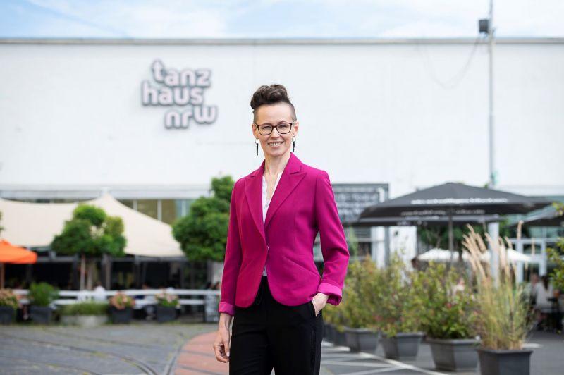 """Šokio kritikė, dramaturgė Ingrida Gerbutavičiūtė yra išrinkta 2022-2025 m. vadovauti žinomam Vokietijos šokio centrui """"tanzhaus nrw"""". Katja Illner nuotrauka"""
