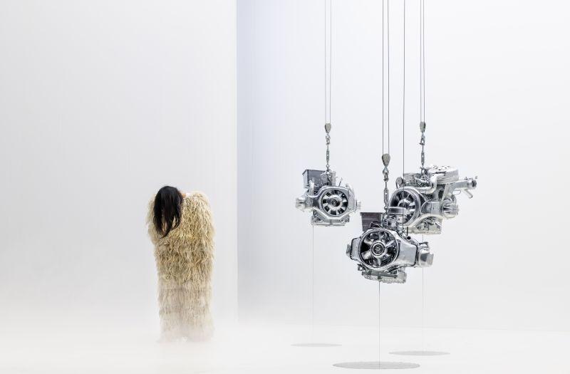"""Akimirka iš spektaklio """"Flesh"""", režisierius Franckas Vigroux (Prancūzija). Quentin Chevrier nuotrauka"""