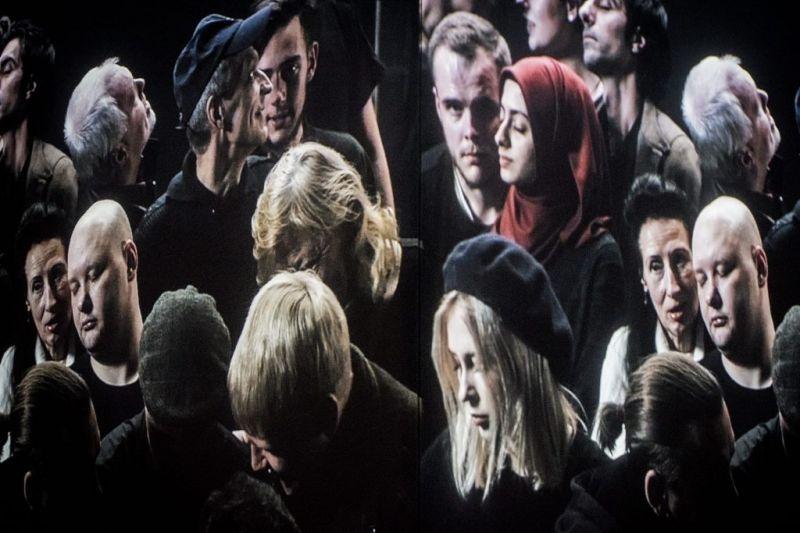 """Veidai spektaklyje """"Dreamland"""". Dmitrijaus Matvejevo nuotrauka"""
