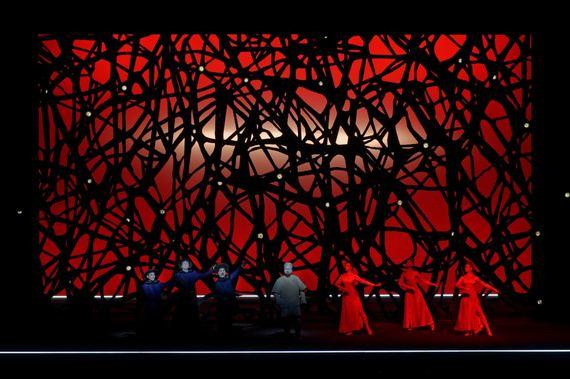 """Opera """"Turandot"""". Martyno Aleksos nuotrauka"""