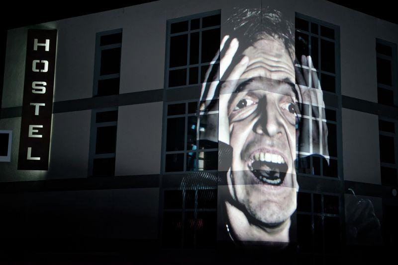 """Scena iš operos """"Lošėjas"""", režisierius Vasilijus Barchatovas. Martyno Aleksos nuotrauka"""