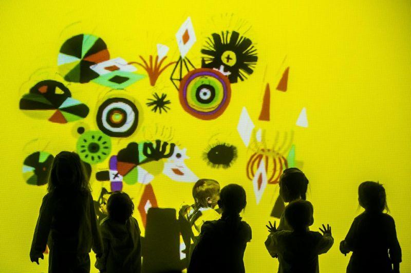 """Ispanų """"LASALA"""" interaktyvus spektaklis """"Nemiegantis naktis"""". Dmitrijaus Matvejevo nuotrauka"""