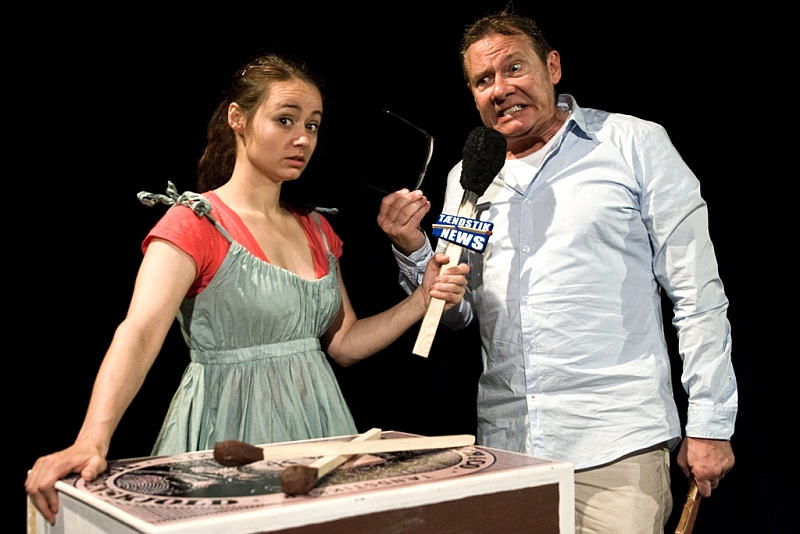 "Spektaklis ""Mergaitė su degtukais"", Apollo Theater, Danija. Festivalio archyvas"