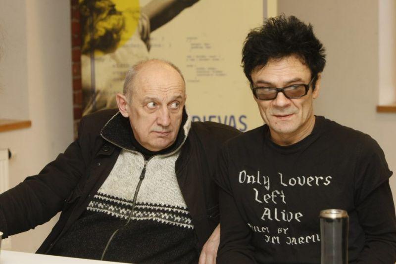 Valentinas Masalskis ir Benas Šarka. Vytauto Liaudanskio nuotrauka