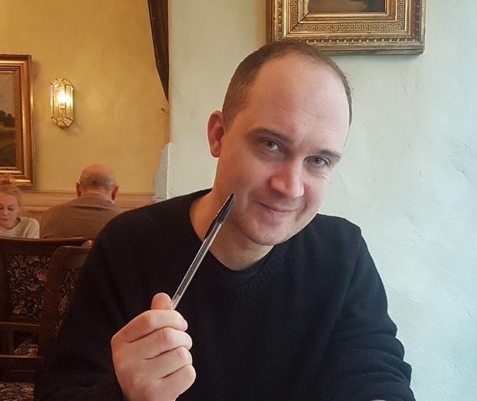 Dramaturgas, aktorius ir dramaturgų mokytojas Chrisas Thorpe. Rengėjų archyvo nuotrauka