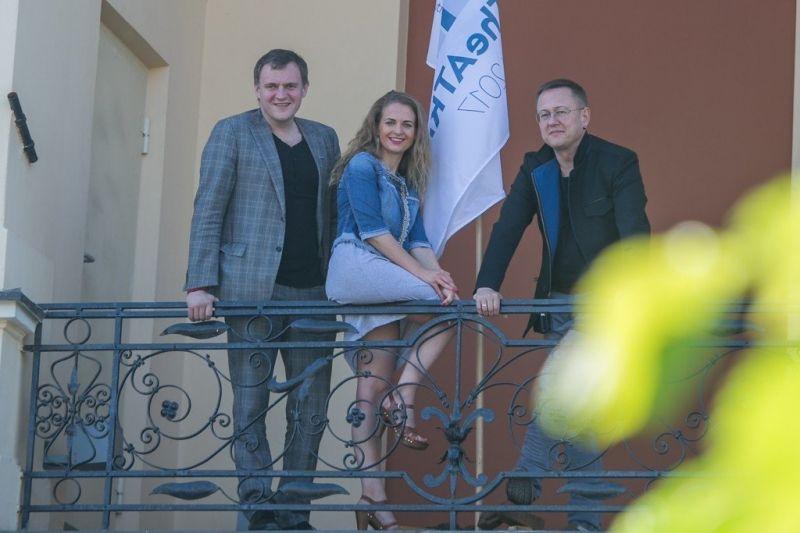 Tomas Juočys, Ineta Baužytė ir Gintaras Grajauskas. Vytauto Petriko nuotrauka