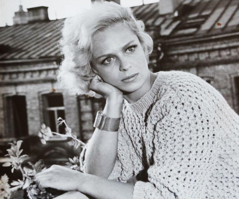 Aktorė Gražina Balandytė. Karjeros pradžia. Asmeninio archyvo nuotrauka