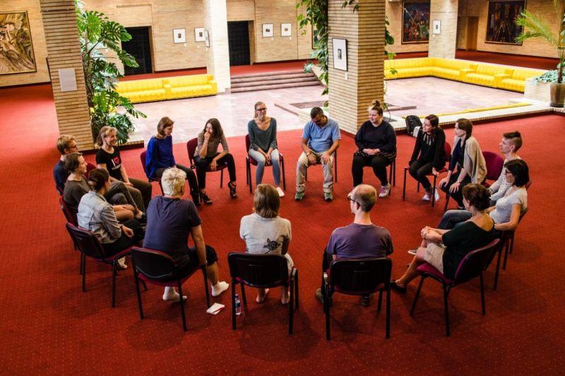 Vasaros teatro mokykloje. Aldos Eikevičiūtės nuotrauka