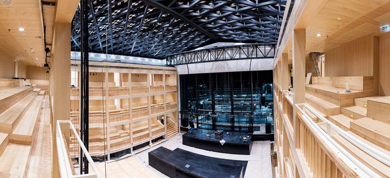 """""""Šekspyro teatras"""" Gdanske - viena žinomiausių Lenkijos teatriniame gyvenime institucijų. Dawido Linkowskio nuotrauka iš culture.pl"""