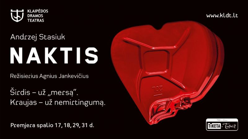 """Andžejus Stasiukas """"Naktyje"""" preparuoja stereotipus ir beprotiškiausias mitologijas."""