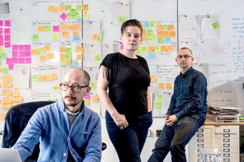 """""""Blast Theory"""": Nickas Tandavanitj, Ju Row Farr ir Mattas Adamsas bendrą kūrybinę veiklą pradėjo 1991 m. """"Kultūros barų"""" archyvo nuotrauka"""